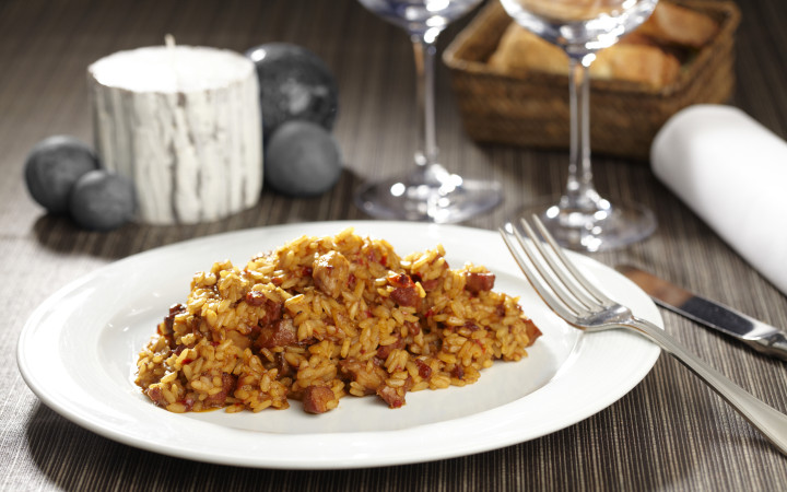 Voleu fer un bon arròs Nembo de l'Estany de Pals amb conill i carxofes?
